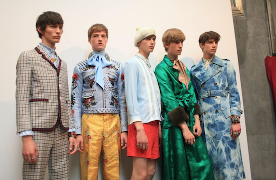 chic geek best menswear label of 2015 gucci