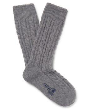 kingsman corgi cashmere socks the chic geek