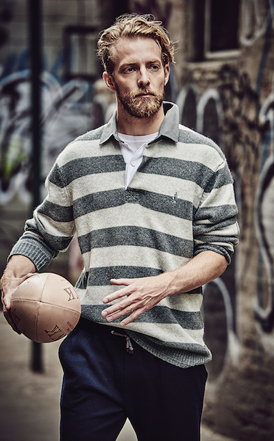 rugby striped knit thomas pink geek chic