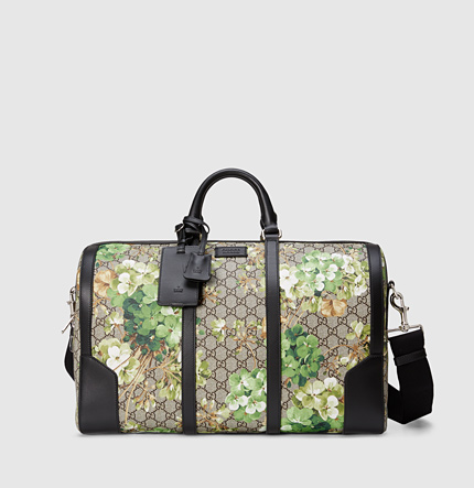 Gucci GG Bloom Duffle Bag flowers