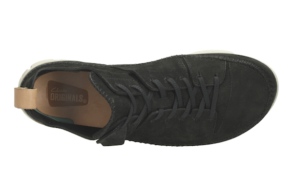 Clarks Originals Black suede trainers