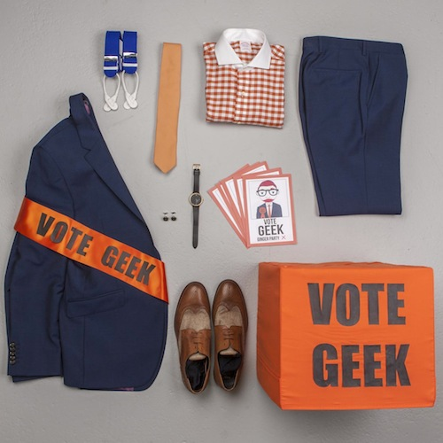 vote geek the chic geek for prime minister ootd
