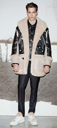 coach menswear 2015 sheepskin