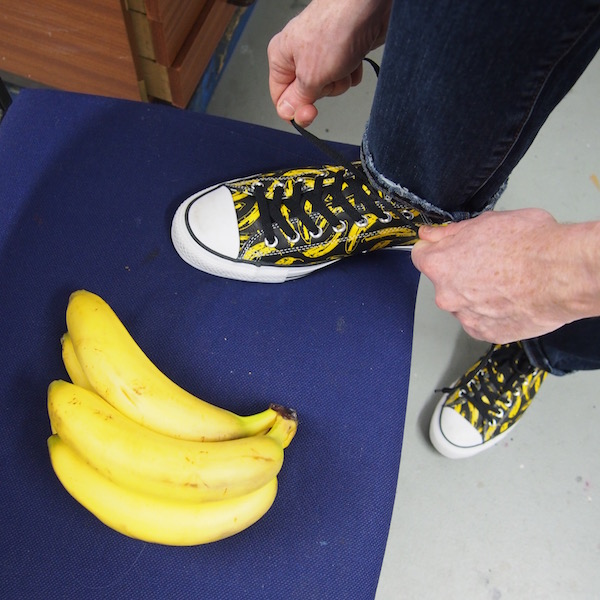 Converse andy warhol OOTD the chic geek trainers sneakers