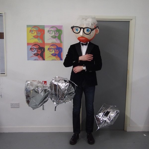 The Chic Geek warhol geek evening wear