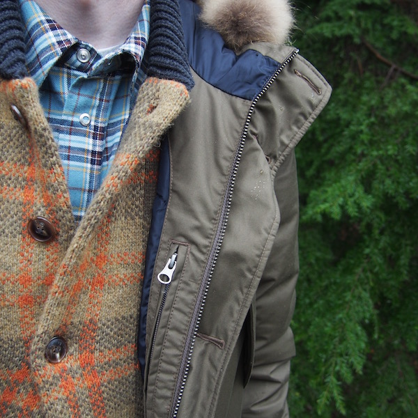 pauls smith shirt scotch soda cardigan aigle parka