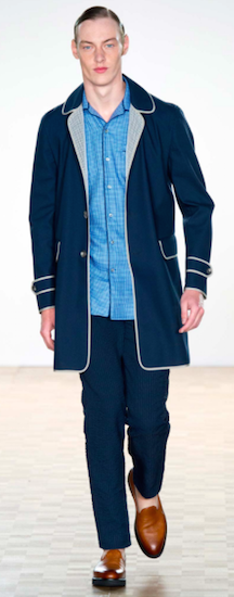Hardy Amies menswear SS16 trends pyjama collar