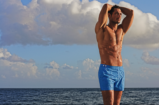 swimshorts mens david gandy marks and spencer