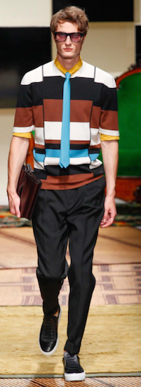 menswear milan trends ferragamo lines distortion