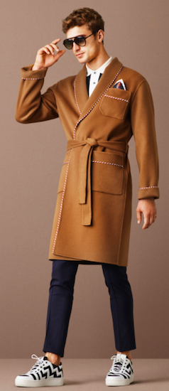 bally menswear spring 2016 milan dressing gown
