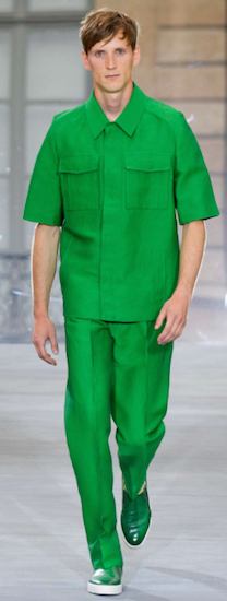 menswear paris trends green berluti