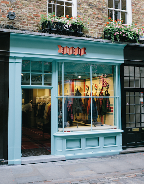 Baracuta London Flagship