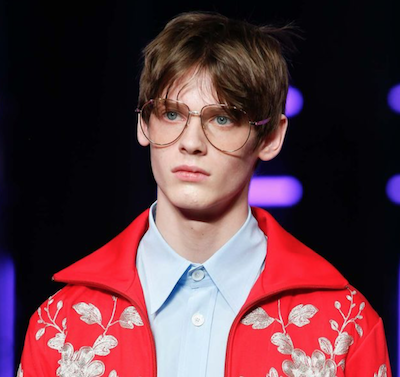 chic geek spectacles gucci menswear