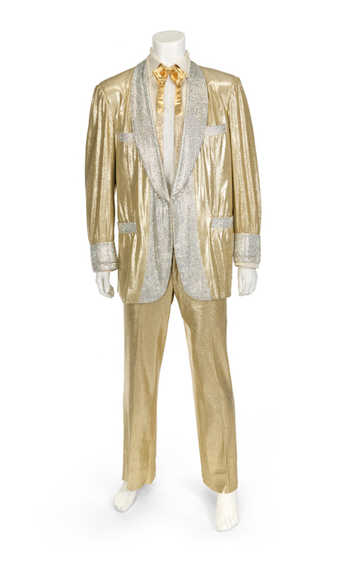 elvis gold suit book the chic geek