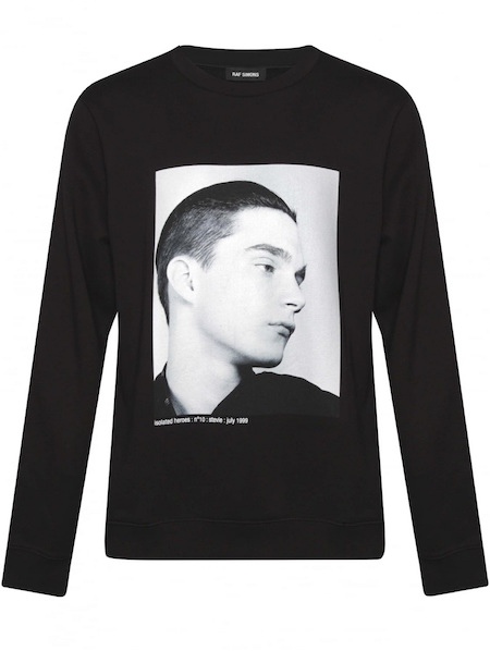 raf simons man jumper hernia the chic geek