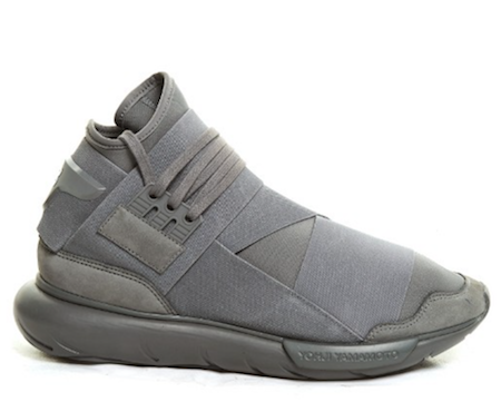 grey trainers Y3 adidas