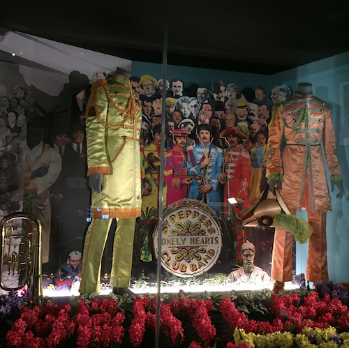 beatles sergeant pepper lonely heart suits V&A