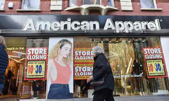 American Apparel Death of the hipster