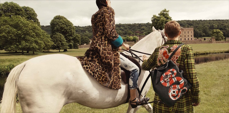 Glen Luchford Gucci horse chatsworth