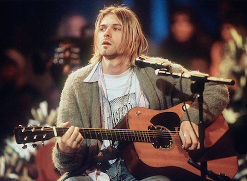 Kurt Cobain fashion menswear revival