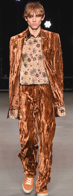menswear trends aw 16 Topman Design copper colour