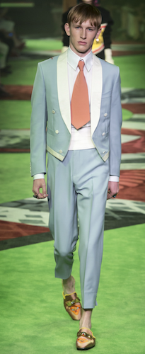 evening menswear gucci spring 2017