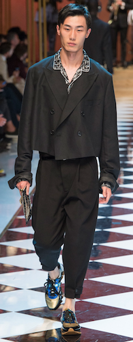new evening menswear dolce & gabbana