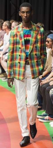menswear trends spring summer 2017 paul smith rainbow menswear