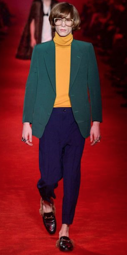Gucci roll neck trend menswear