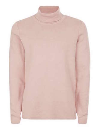 rollneck pink trends Topman The Chic Geek menswear