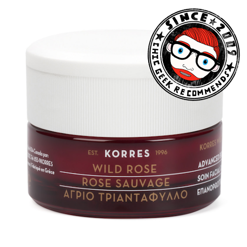 Review Korres Wild Rose Over Night Sleeping Facial