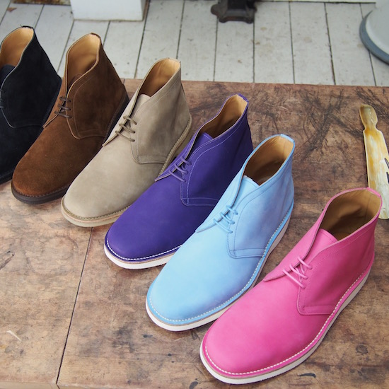 mens desert boot suede barkan carreducker london