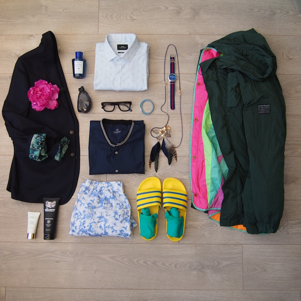 menswear flatlay style the chic geek spring 2016