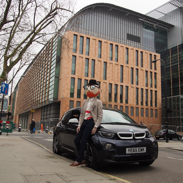 the francis crick institute london bmw i3