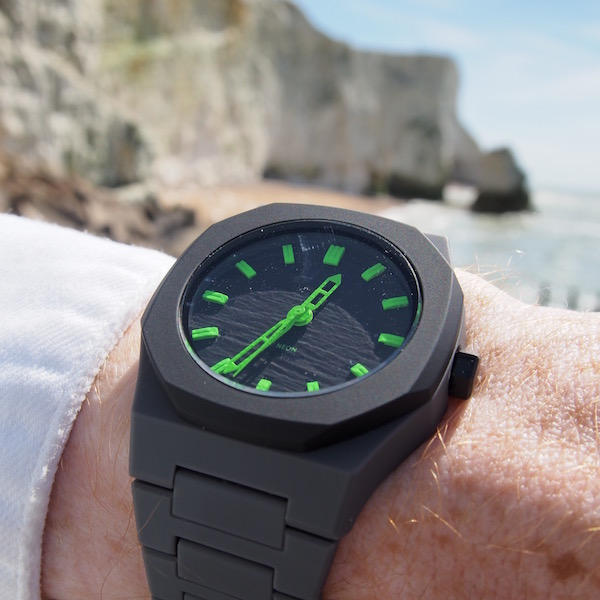 green watch D1 milano