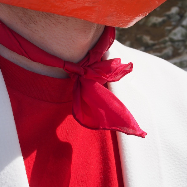 red neckerchief john lewis the chic geek menswear