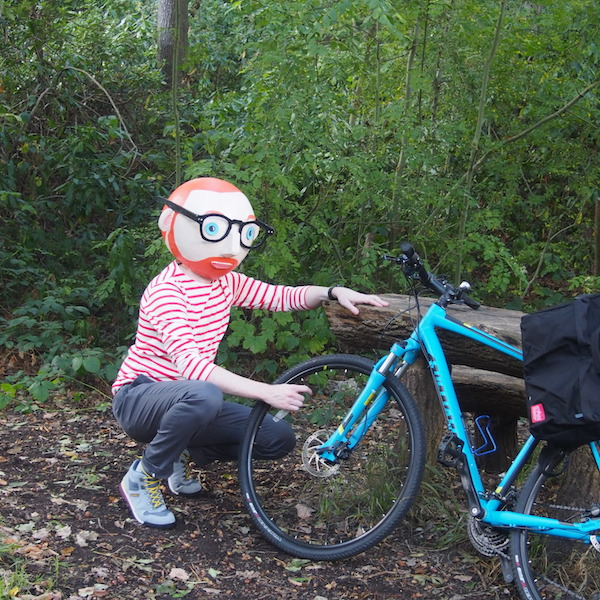 Breton stripe Spoke bulletproof trousers
