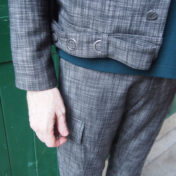 Grey Suit Menswear OOTD Chic Geek