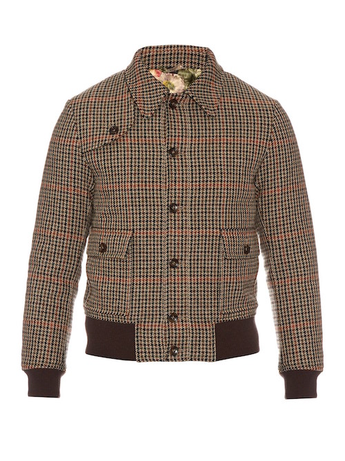 tweed mens bomber gucci bird the chic geek must have item