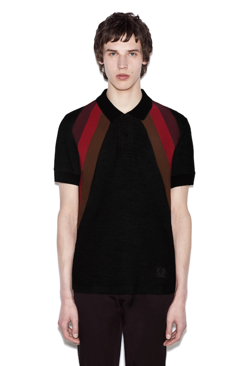 fred perry raf simons polo top