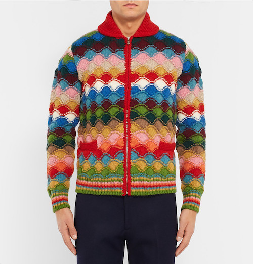 shetland jumper prada the chic geek cardigan mr porter