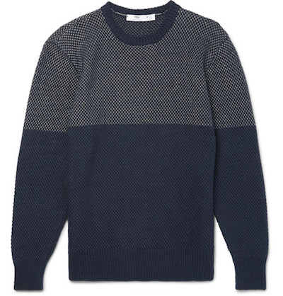 Gansey knitwear Inis Meain Mr Porter The Chic Geek Menswear
