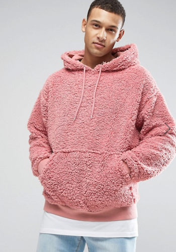 ASOS Borg Fleece is the menswear material of the season The Chic Geek