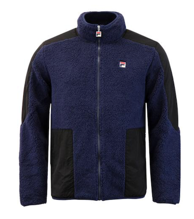 Fila Vintage Borg Fleece is the menswear material of the season The Chic Geek