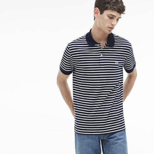Call Me By Your Name Get The Look Menswear Lacoste polo striped shirt