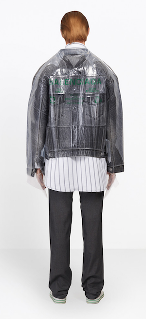 menswear Christmas wish list Balenciaga dry clean