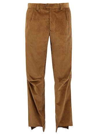 Best Men's Corduroy Vetements