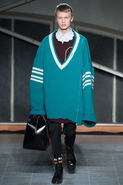 Raf Simons Oversized Cricket Jumper Menswear