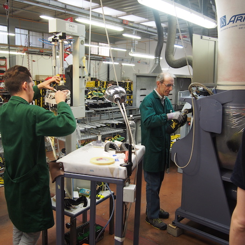 Inside the Italian Diadora factory