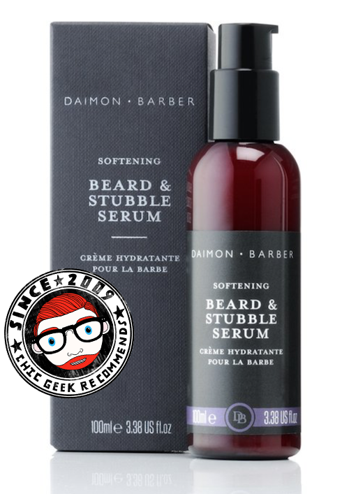 beard dandruff solution review Daimon Barber beard stubble serum